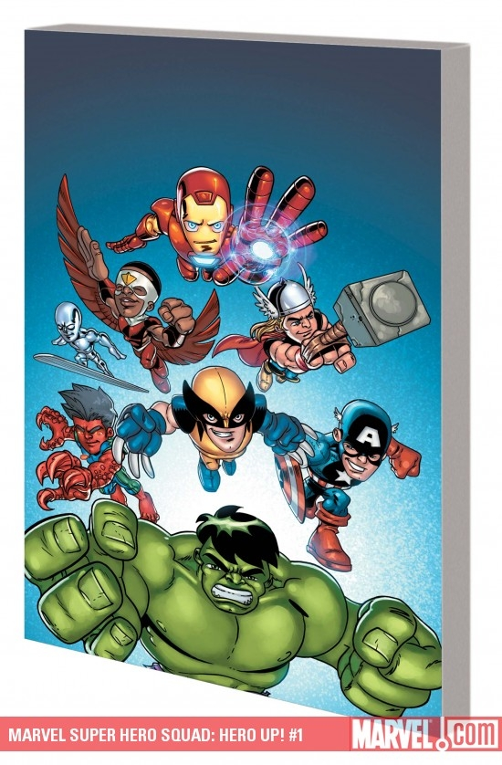Marvel Super Hero Squad: Hero Up! Digest (Digest)