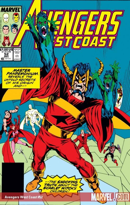 Avengers West Coast (1985) #52