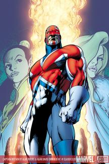 Captain Britain by Alan Moore & Alan Davis (Hardcover)