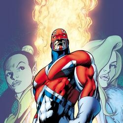 Captain Britain by Alan Moore & Alan Davis