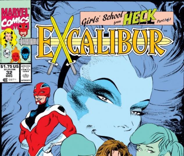 EXCALIBUR #32 COVER