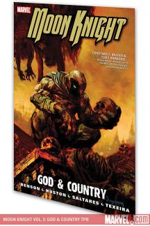 Moon Knight Vol. 3: God & Country (Trade Paperback)