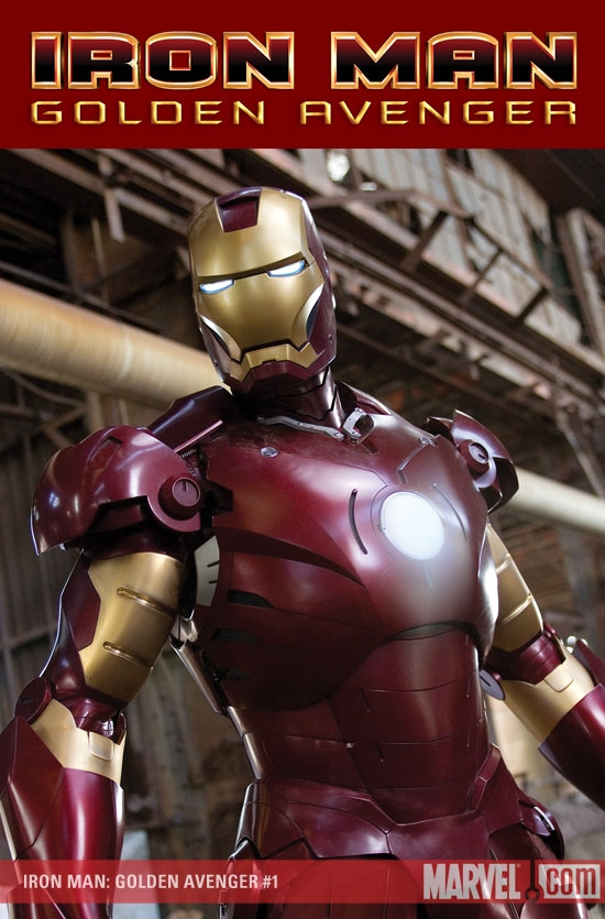 Iron Man: Golden Avenger (2008) #1