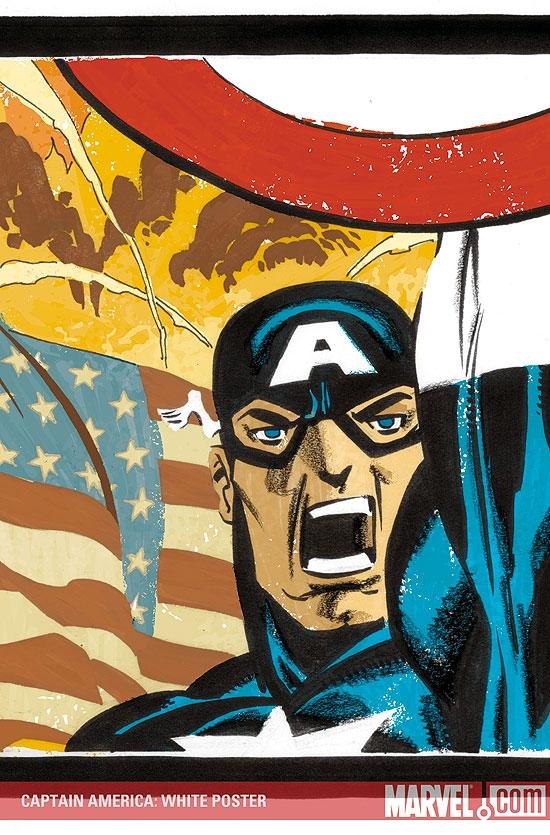Captain America: White Poster (2008) #1