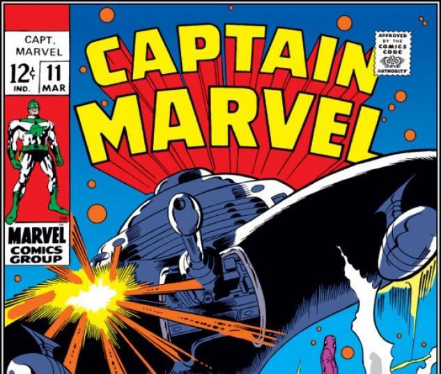 CAPTAIN MARVEL #11 COVER