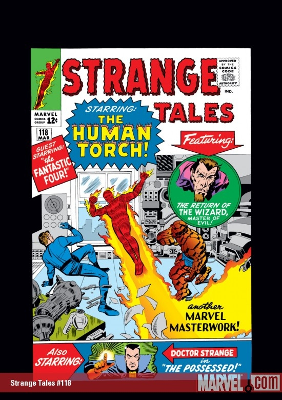 Strange Tales (1951) #118