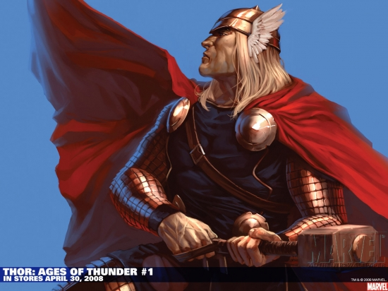 Thor: Ages of Thunder (2008) #1 Wallpaper