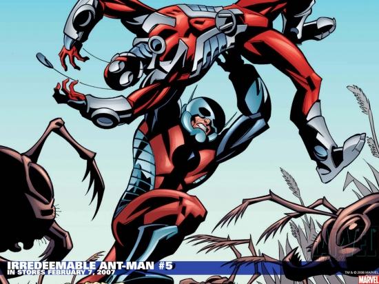 Irredeemable Ant-Man (2006) #5 Wallpaper