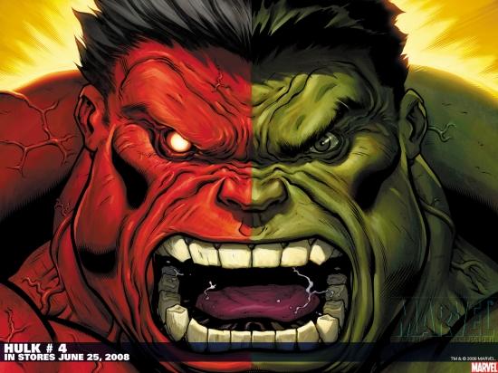 Hulk (2008) #4 Wallpaper