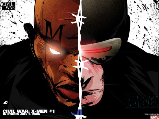 Civil War: X-Men (2006) #1 Wallpaper