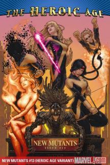 New Mutants (2009) #13 (HEROIC AGE VARIANT)