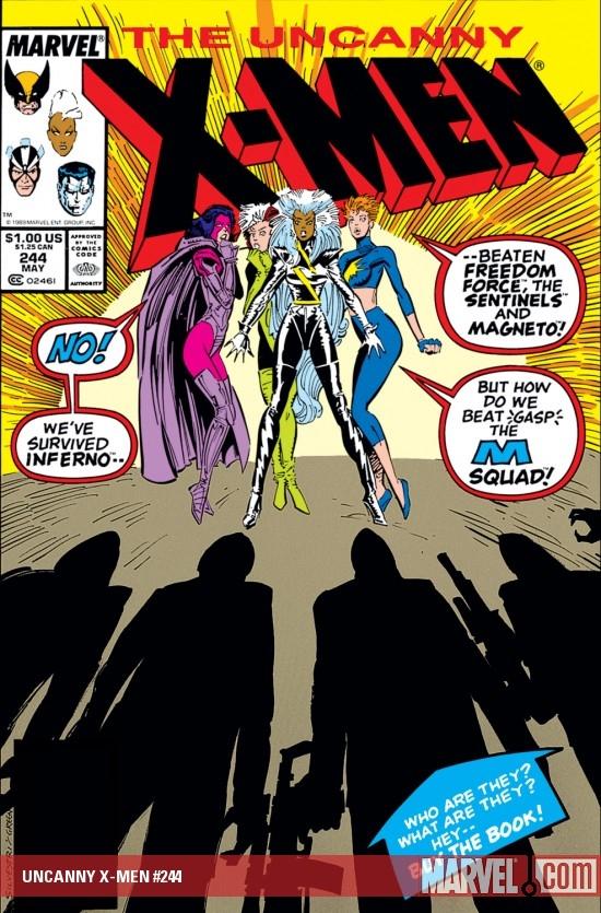 Uncanny X-Men (1963) #244
