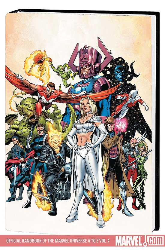 Official Handbook of the Marvel Universe a to Z Vol. 4 Premiere (Hardcover)