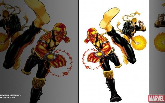 Power Man and Iron Fist (2010) #1 Wallpaper
