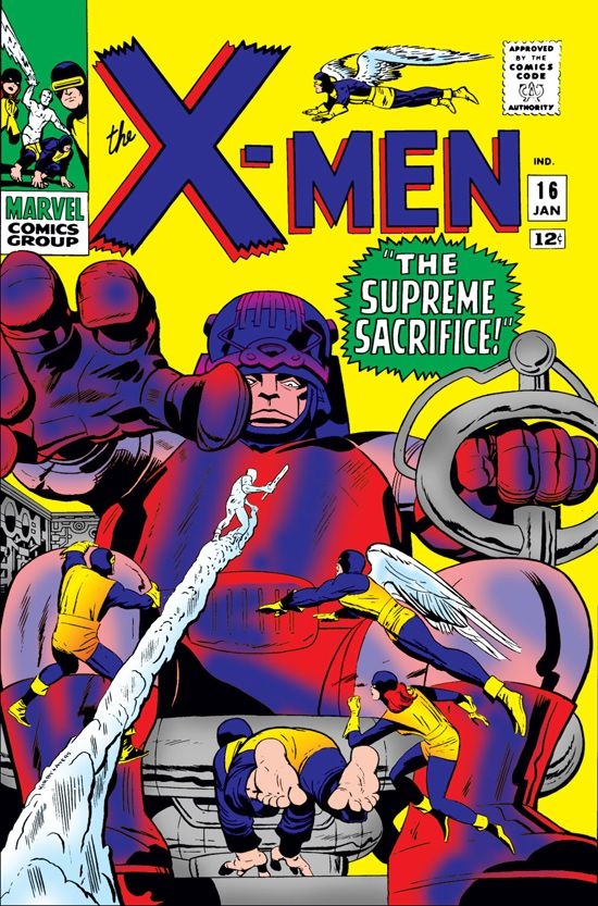 Uncanny X-Men (1963) #16