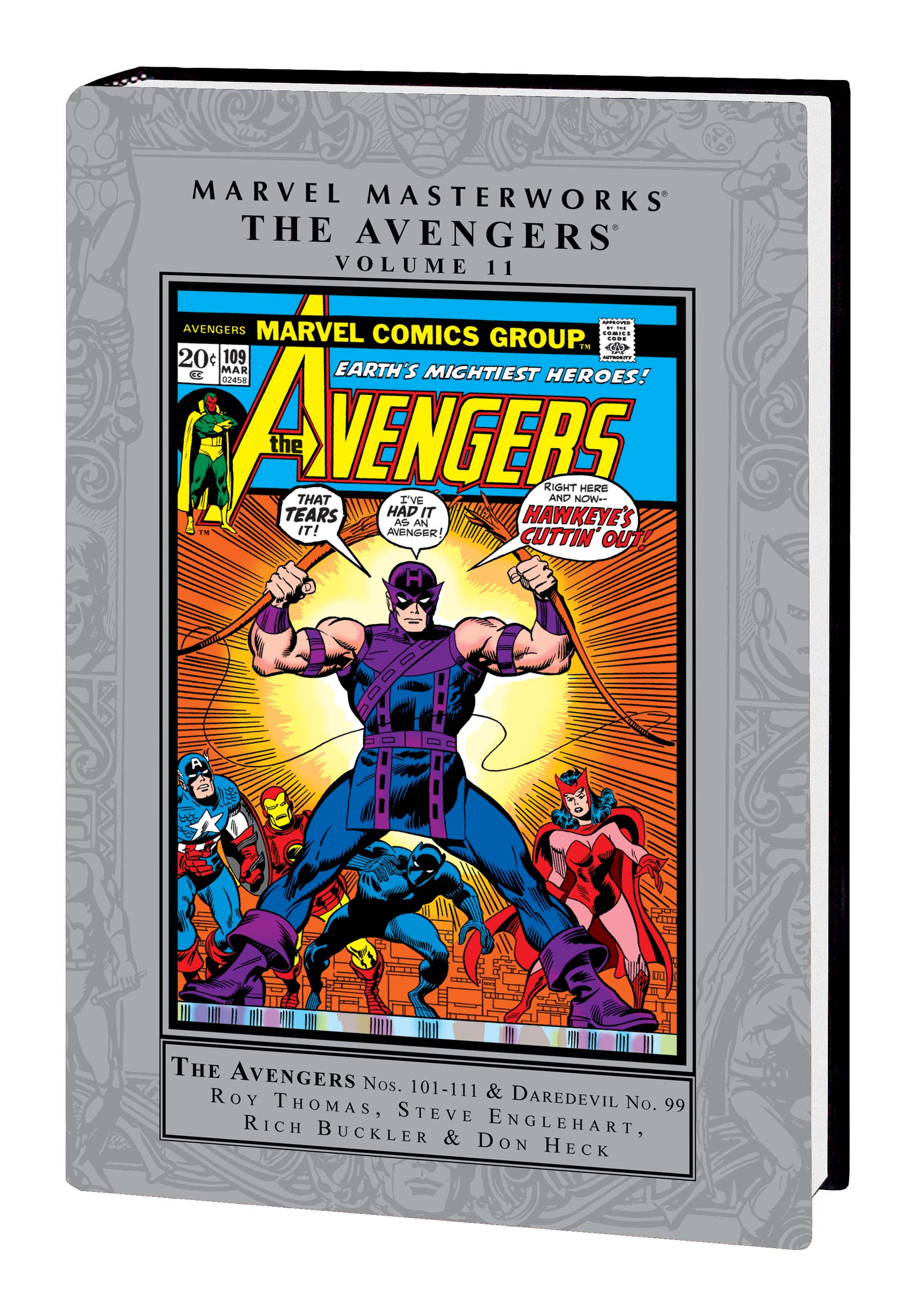 Marvel Masterworks: The Avengers Vol. 11 HC (Hardcover)