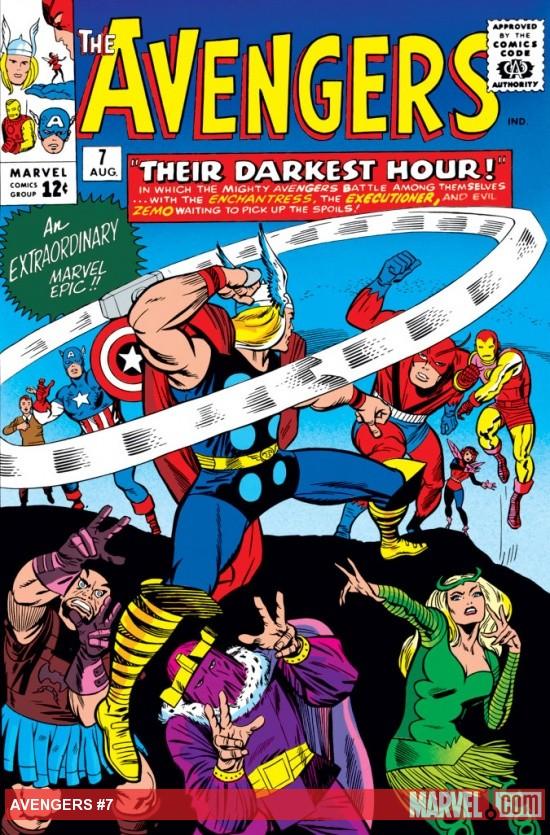 Avengers (1963) #7
