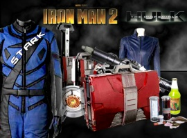 Own Iron Man 2 & Incredible Hulk Props & Costumes