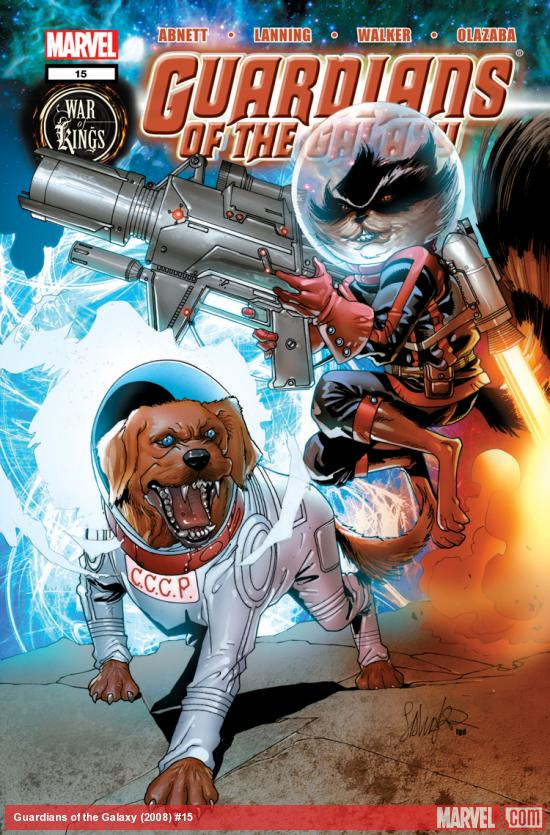 Guardians of the Galaxy (2008) #15