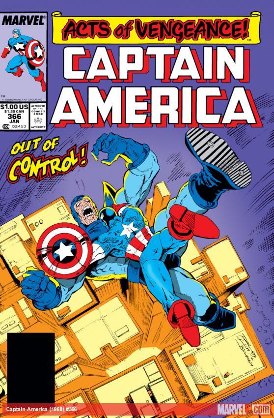 Captain America (1968) #366