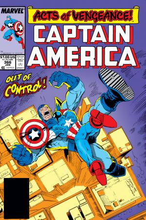 Captain America #366