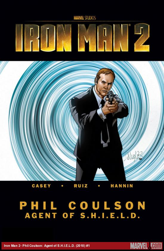 Iron Man 2- Phil Coulson: Agent of S.H.I.E.L.D. (2010) #1