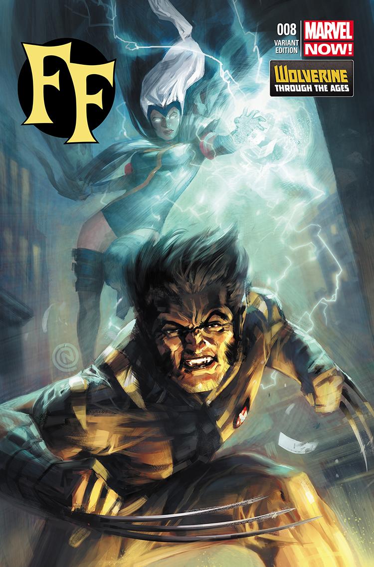 FF (2012) #9 (Nauck Wolverine Costume Variant)