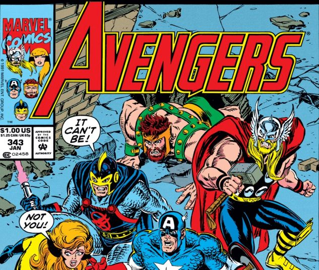 Avengers (1963) #343 Cover