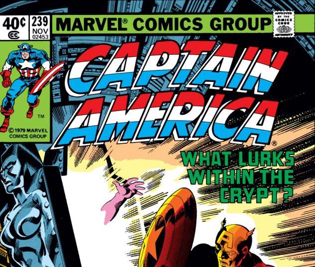 Captain America (1968) #239 Cover