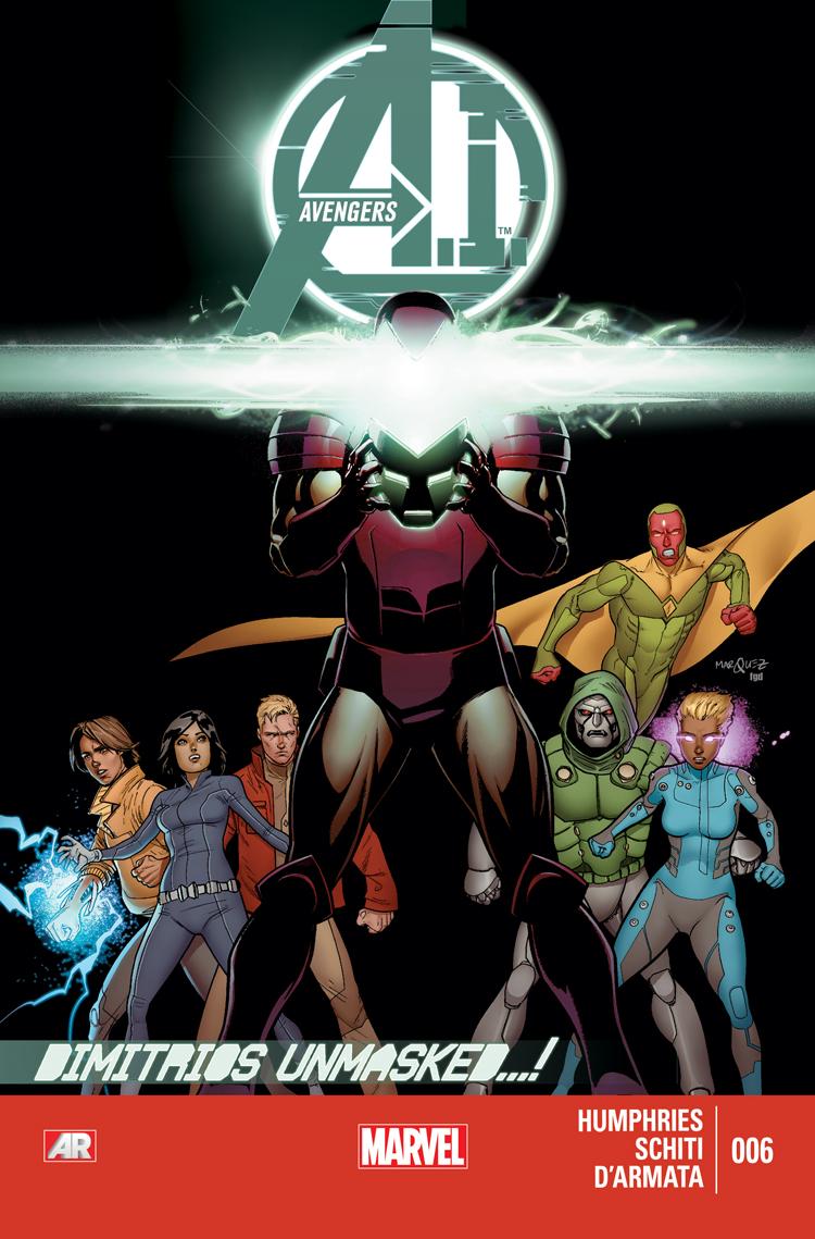 Avengers A.I. (2013) #6