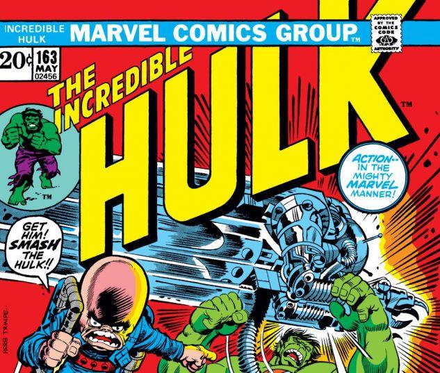 Incredible Hulk (1962) #163 Cover