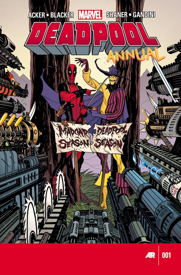 Deadpool Annual 2013 (2013) #1