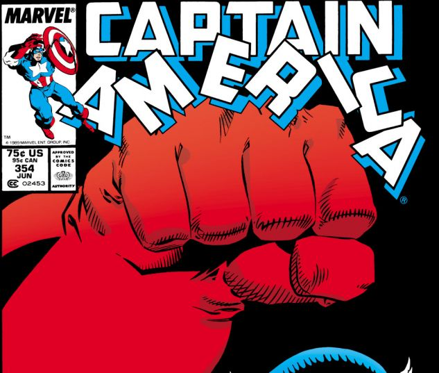 Captain America (1968) #354 Cover