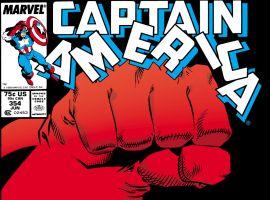 Captain America (1968) #354 Cover