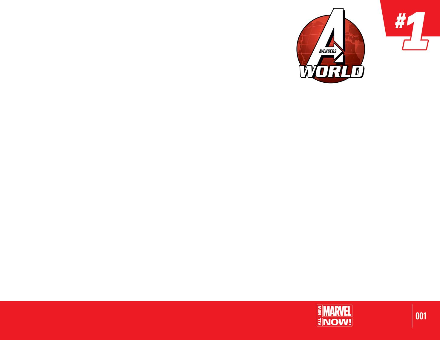 Avengers World (2014) #1 (Blank Cover Variant)