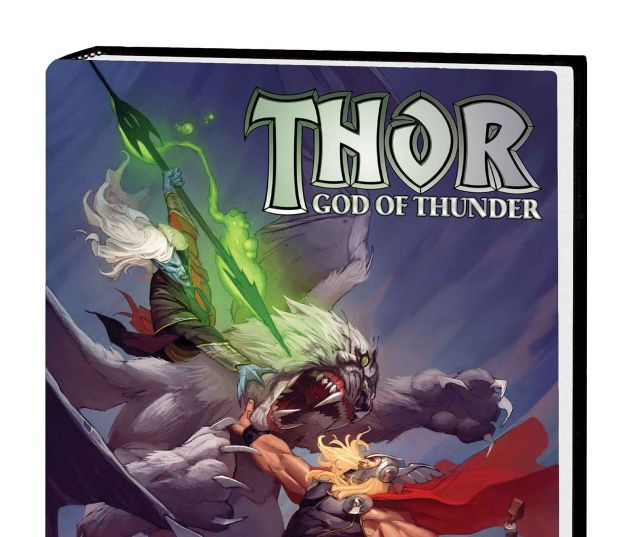 THOR: GOD OF THUNDER VOL. 3 - THE ACCURSED PREMIERE HC (MARVEL NOW, WITH DIGITAL CODE)
