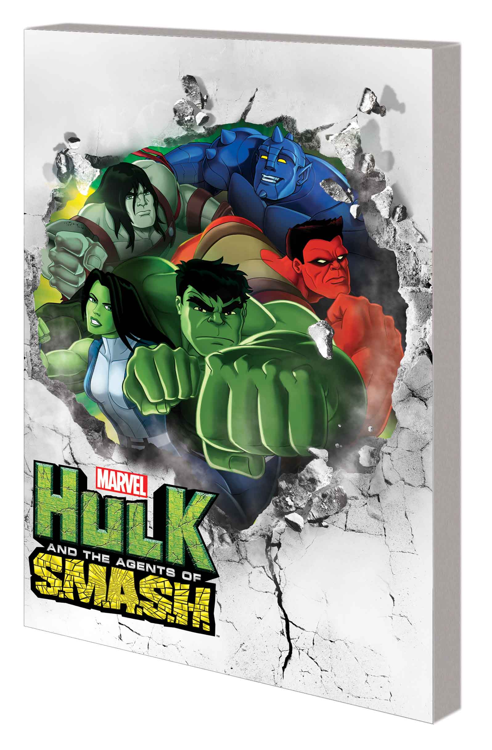 MARVEL UNIVERSE HULK: AGENTS OF S.M.A.S.H. DIGEST (Digest)