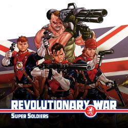 Revolutionary War: Supersoldiers