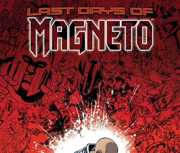cover from Magneto (2014) #21