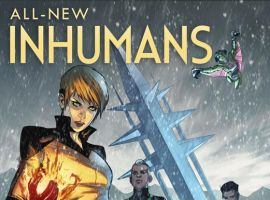 All-New Inhumans #1 cover art by Stefano Caselli