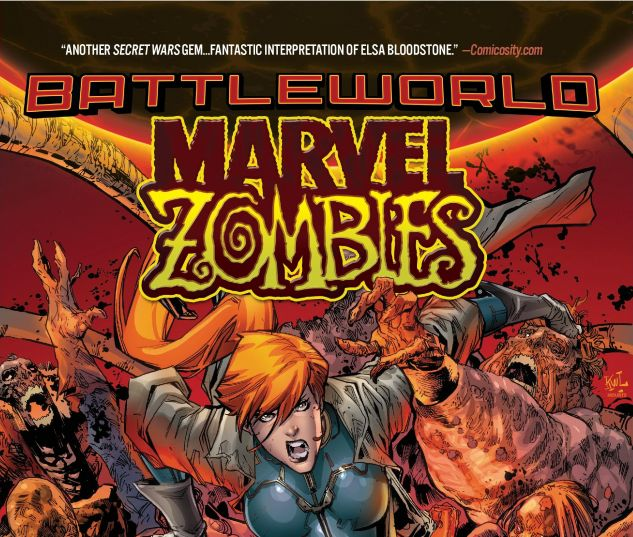 cover from Marvel Zombies: Battleworld (2015)