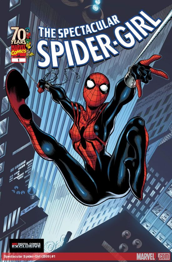 Spectacular Spider-Girl (2009) #1