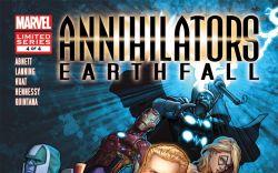 ANNIHILATORS: EARTHFALL (2011) #4 Cover