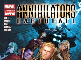 ANNIHILATORS: EARTHFALL (2011) #4 Cover