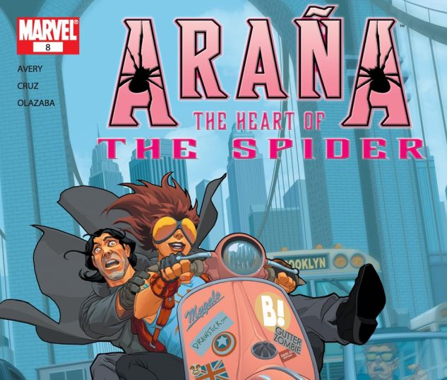 ARANA: THE HEART OF THE SPIDER (2005) #8 Cover