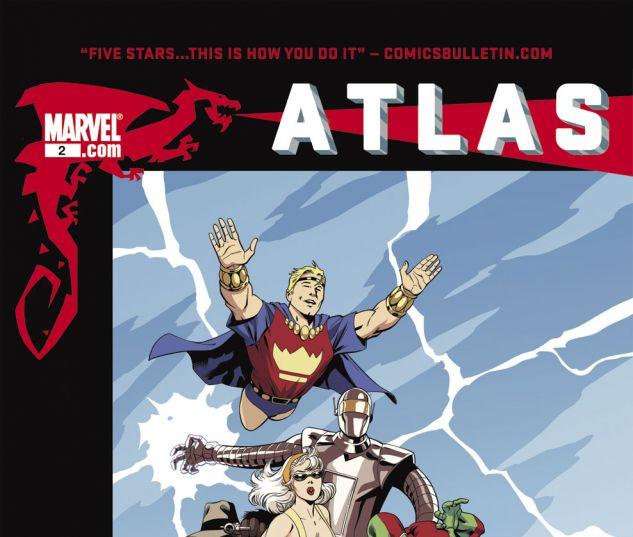 ATLAS (2010) #2 Cover