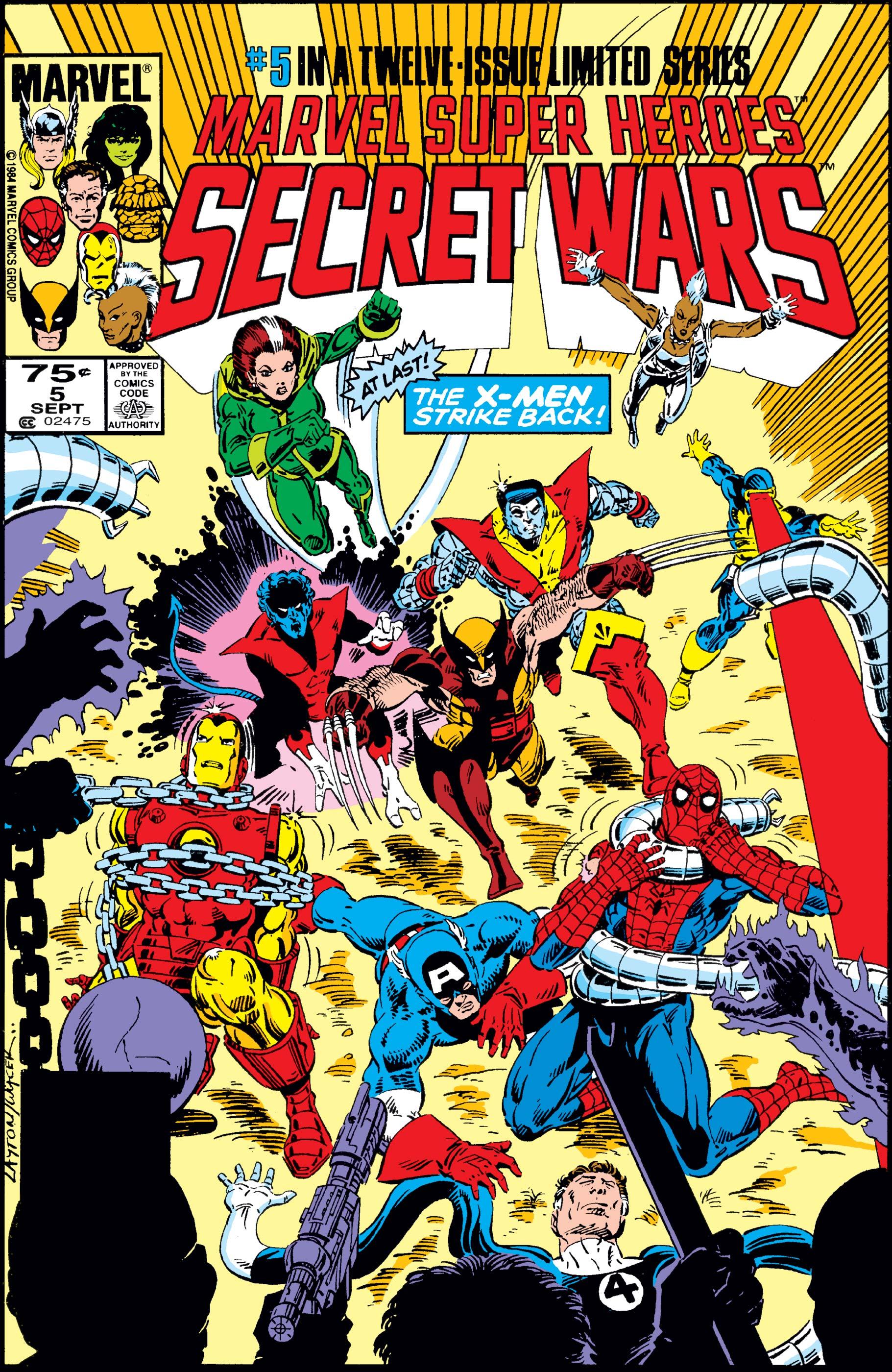 Secret Wars (1984) #5