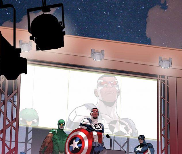 Captain America: Sam Wilson (2015) #14 (TBD ARTIST STORY THUS FAR VARIANT)