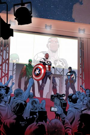 Captain America: Sam Wilson (2015) #14 (Renaud Story Thus Far Variant)