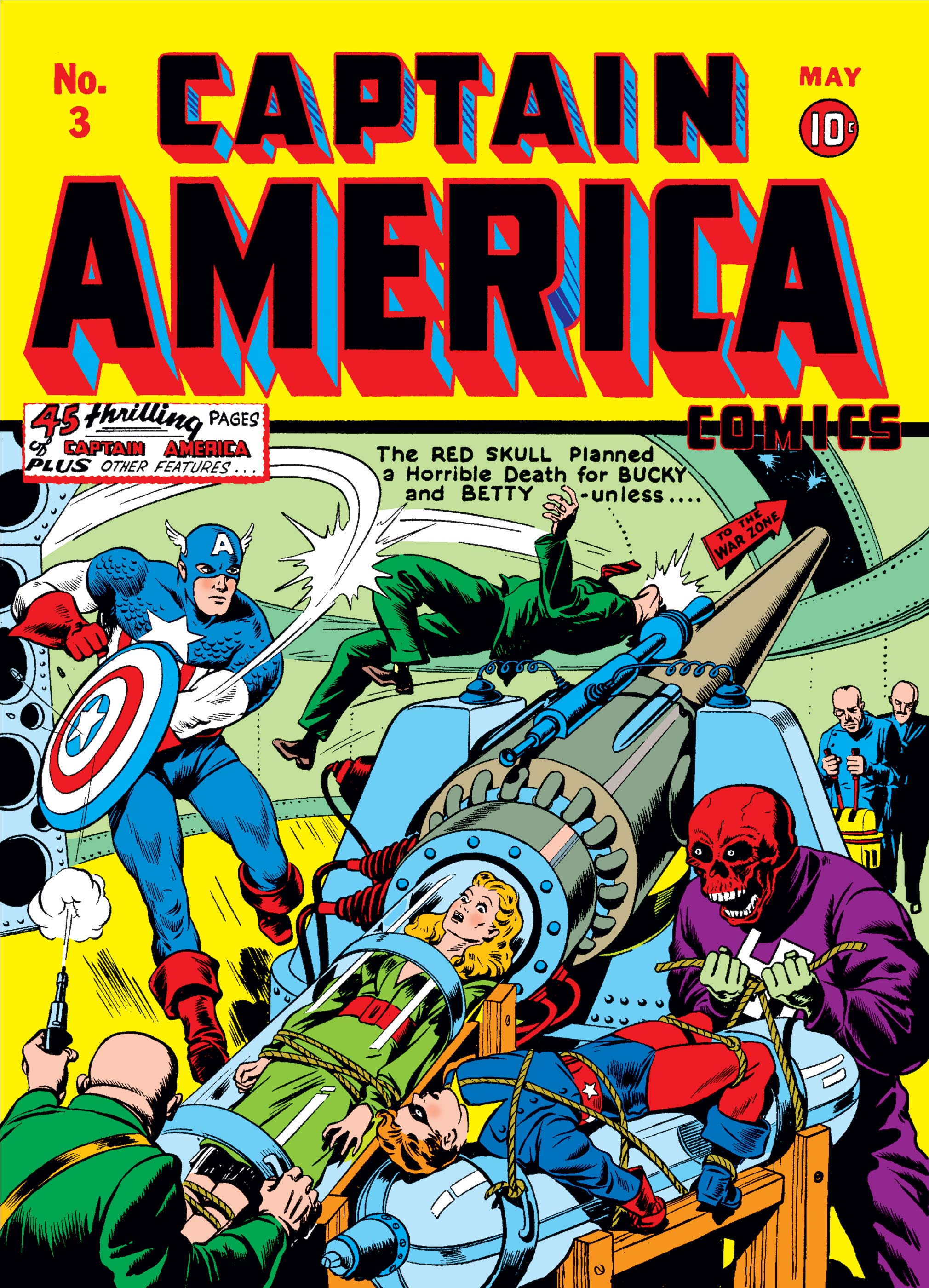 Captain America Comics 1941 3 Comic Issues Marvel
